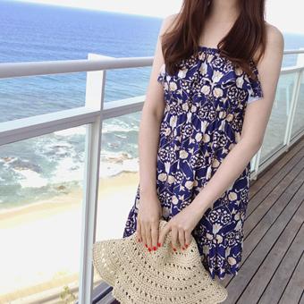 627317 - 蓝玫瑰3件泳衣