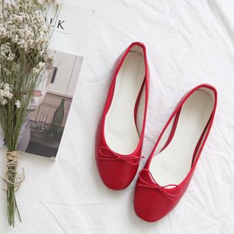 636875 - Vonage的色平底鞋