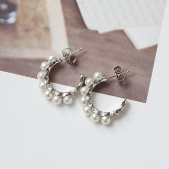 646188 - 珍珠手镯耳环