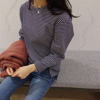 656428 - 金妮条纹T恤衫