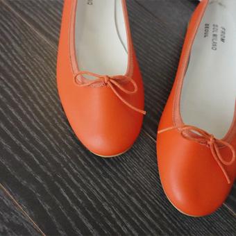 662303 - 春天丝带平底鞋