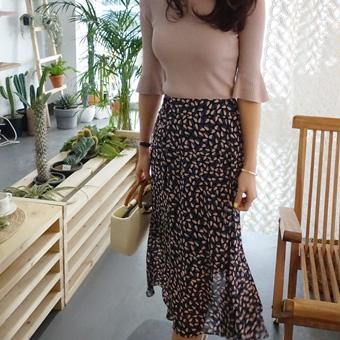 665400 - 艾琳雪纺裙子