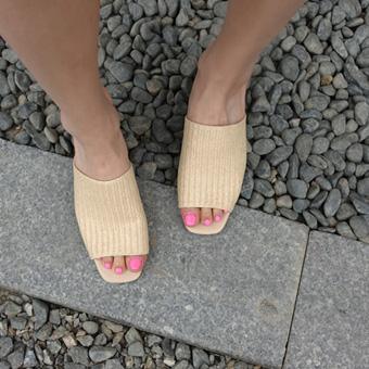 668785 - 编织骡子鞋