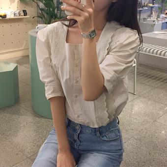 668686 - 广场绣衬衫