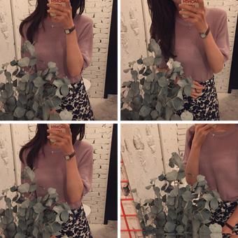 668780 - 菊花长袖针织