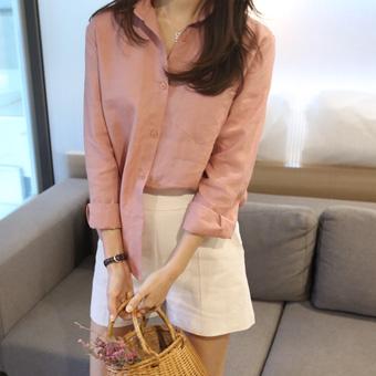 669162 - Miele的亚麻衬衫