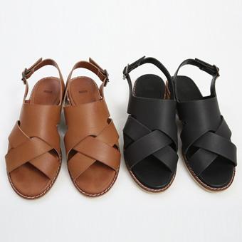 713258 - 斜交凉鞋鞋