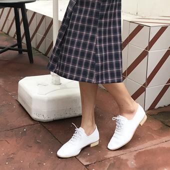 720026 - 白色牛津鞋