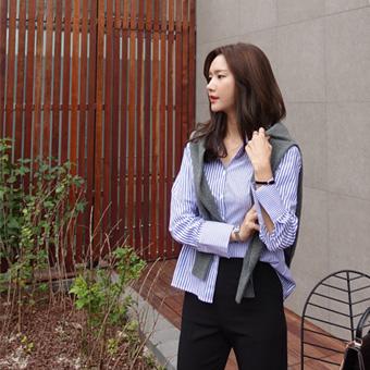 724105 - 道森条纹衬衫