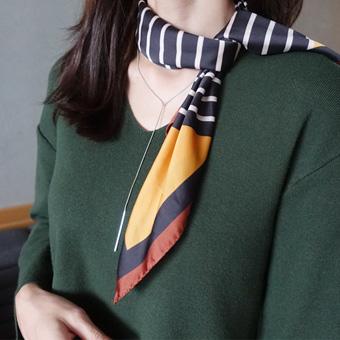 725407 - 手指条纹围巾