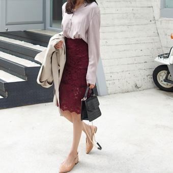 725983 - 时尚花边裙子