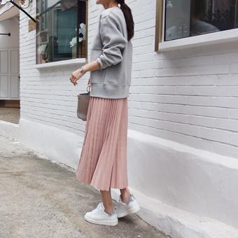 729802 - 甜打褶裙子