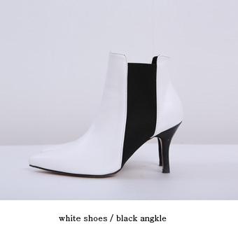 736831 - 黑色针织踝鞋
