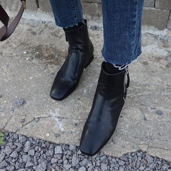 735715 - 拉链踝鞋