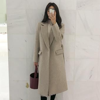 741971 - 羊毛长袍涂层