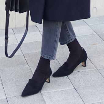 743619 - 细高跟皮鞋便鞋
