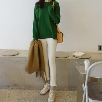 744497 - 常规纺,拉丝裤