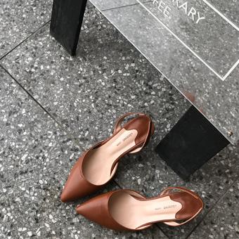 751168 - 卡梅尔跟鞋鞋