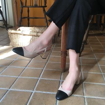 752594 - 米色鞋跟鞋