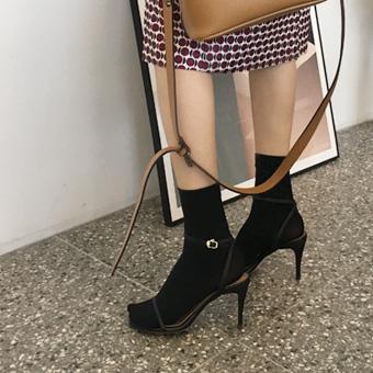 752909 - 牛绑带高跟鞋