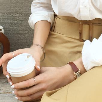 753198 - 巧克力棕色腕表