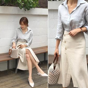753391 - 粉彩棉裙子